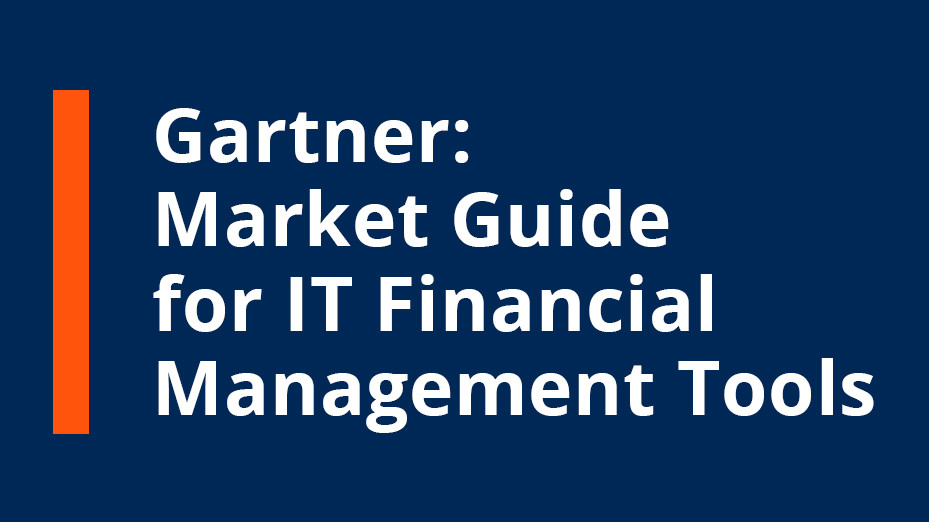 Clausmark in Gartner Market Guide for IT Financial Management Tools 2018 for its solution Bee4IT!