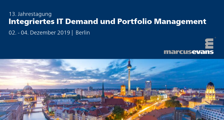 Clausmark is again Sponsor of the 13th Annual Conference IT Demand and Portfolio Management