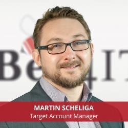 Martin Scheliga Clausmark Target Account Manager Bee4IT